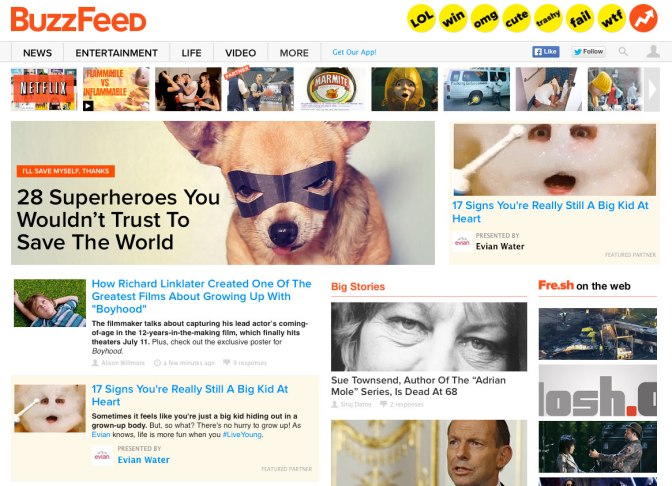 BuzzFeed is known for the tendency of its posts going viral. What is it about the instantaneous news that keeps us clicking?
